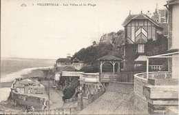 Cpa 14 Villerville * La Plage Et Les Villas , Non Voyagée - Villerville