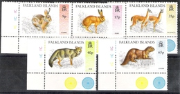 Falkland Islands 1995 Introduced Species MNH CV £9.30 - Falkland Islands