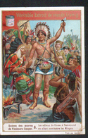 CHROMO LIEBIG , S 509, Scenes Des Oeuvres De F. Cooper, 6, Les Adieux, Indien - Liebig