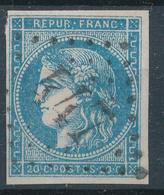 N°45 BORDEAUX NUANCE ET OBLITERATION. - 1870 Emission De Bordeaux