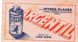 Buvard ARGENTIL Lion Noir    (PPP8622A) - Wash & Clean