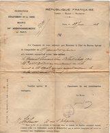 VP13.175 - PARIS - Guerre 14 / 18 - Lettre De La Préfecture Au Sujet De La Disparaisson Du Caporal LEMARIE - Documentos Históricos