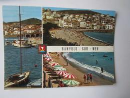 Banyuls Sur Mer. Vues Du Port De Plaisance Et De La Plage. Dino 1265E Postmarked 1978. - Banyuls Sur Mer