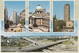 AK Belgrad Beograd Београд Palata Trgovackog Fonda Narodna Skupstina I Postanska Stedionica Srbija Србија Jugoslawien - Jugoslawien