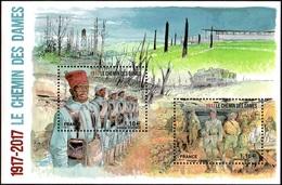 France BF N° F 5138 ** La Bataille Du Chemin Des Dames Dans L'Aisne - Sheetlets
