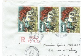 N° 2026 X3 Sur Lettre Recommandée De RENNES Du 10/11/1979 - Marcophilie (Lettres)