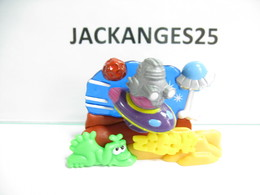 KINDER ALLEMAND PUZZLE 3D PLASTIC 610202  2001  +  BPZ D - Puzzles