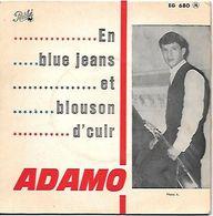 ADAMO  -- EN  BLUE JEANS ET BLOUSON D CUIR - Collector's Editions