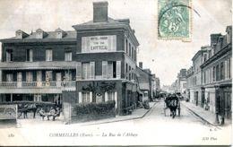 N°2486 A -cpa Cormeilles -la Rue De L'abbaye- - Andere Gemeenten