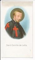 Image Pieuse Saint Camille De Lellis Patron Des Malades Des Hôpitaux Des Infirmiers Et Des Infirmières -  Holy Card - Images Religieuses