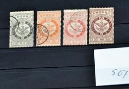 507 Korea 1903 Mi33-36    Mi33 Mnh CV€45,50 - Korea (...-1945)