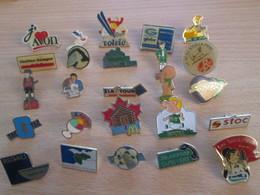 A Prix Cassé !!! LOT19-071 De 25 Pin's En Très Bon état , Tous Différents , Avec Leurs Attaches - Badges