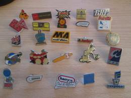 A Prix Cassé !!! LOT19-066 De 25 Pin's En Très Bon état , Tous Différents , Avec Leurs Attaches - Badges