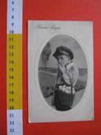CA5 ITALIA BUONA PASQUA CESTO DI UOVA E BAMBINO CHE FUMA TABACCO TABAGISMO - VIAGGIATA 1928 - Salute