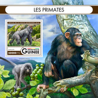 GUINEA 2016 - Chimpanzee - Mi B2710; CV=20 € - Chimpanzés