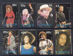 GRENADE   Timbres Neufs ** De 1988  ( Ref 56 ) Musique - Chanteurs - Grenada (1974-...)