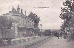 CPA - 74 - THONON LES BAINS - La Gare - 1163 - Thonon-les-Bains
