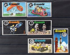 GRENADE   Timbres Neufs ** De 1971  ( Ref 56A ) Espace  Apollo - Grenada (1974-...)
