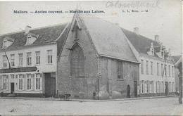 MALINES ..-- MARCHE Aux LAINES . Ancien COUVENT . 1905 Vers BRUXELLES . Voir Verso . - Mechelen