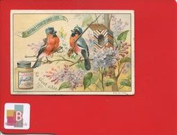 LIEBIG Jolie Chromo Anthropomorphisme Oiseau Militaire Baïonnette Guérite Nichoir Tricolore  GENT AILÉE - Liebig