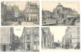4 Cpa Laval - Vieux Château, Rues, ...    ( S.3067 ) - Laval