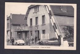 Longlaville (54) Poste De Douane ( Frontiere Avec Luxembourg Douanes Francaises Douanier Voiture Moto Ed. Roeder / Braye - France