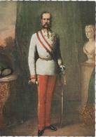 Künstlerkarte AK Kaiser Franz Josef I Kaisereich Österreich Ungarn Doppelmonarchie Donaumonarchie K. U. K. Gemälde - Königshäuser