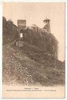 38 - CREMIEU - Rochers St-Hyppolyte, Ancienne Porte Des Bénédictins - Tour De L'Horloge - Crémieu