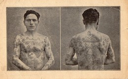 MARCEL Classe 1912  -  Homme Tatoue - Militaria