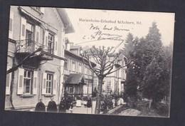 AK Obersasbach Marienheim Erlenbad B/ Achern ( Animée Kurhaus Ed. Busam) - Sasbach