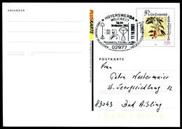 06863) BRD - Mi PSo 77I - SoST 02977 HOYERSWERDA Vom 11.10.2003 -Tag Der Briefmarke, Photorakete Ing. Alfed Maul - BRD