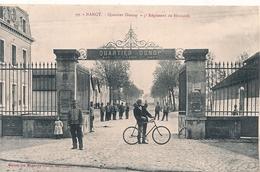 Cpa 54 Nancy Quartier Donnop 5e Régiment De Hussards - Nancy