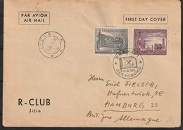 MiNr. 821 - 822  Tschechoslowakei / 1953, 10. Sept. Tag Des Bergmannes. - Tschechoslowakei/CSSR