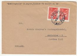 Yugoslavia, Letter Cover Travelled 1947 Zagreb Pmk B181025 - 1945-1992 Sozialistische Föderative Republik Jugoslawien