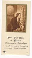 Image Pieuse Saint Louis-Marie De Monfort - Holy Card - Images Religieuses