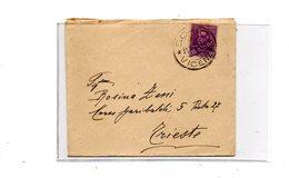 LAB457 - REGNO , Lettera Da Schio 31/5/1929 Per Trieste - 1900-44 Vittorio Emanuele III