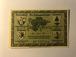 Allemagne Notgeld Oberweissbach 50 Pfennig - [ 3] 1918-1933 : République De Weimar