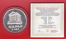 Armenien / Armenie / Armenia 1994, Garni, Silver Coin, 25 Dram - Proof - Arménie