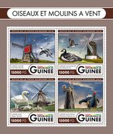GUINEA 2016 - Swans, Windmills - Mi 12046-9; CV=24 € - Swans
