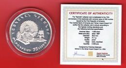 Armenien / Armenie / Armenia 1994, 75th Anniversary Of The 1st Banknote, Silver Coin, 1000 Dram - Proof - Armenia