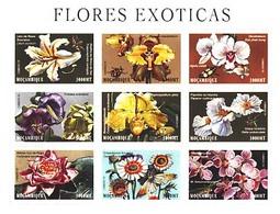 MBP-BK3-173 MINT ¤ MOCAMBIQUE 2000 9w In Serie ¤ FLOWERS OF THE WORLD - FLEURS - BLÜMEN - BLOEMEN - FLORES - - Ohne Zuordnung