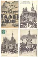 4 Cpa Sainte Anne D'Auray - Basilique, Pèlerins, Religion  ...    ( S.3076 ) - Sainte Anne D'Auray