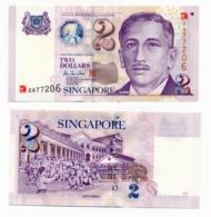 SINGAPORE // 2 Dollars// SPL/AU - Singapour