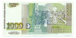 1996//2001 // BULGARIE // 1000 & 1 Leva // UNC - Bulgarie