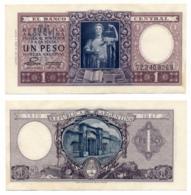 1947 // EL BANCO CENTRAL ARGENTINA // 1 Peso // XF - Argentine