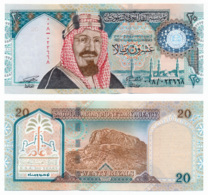 SAUDI ARABIAN MONETARY AGENCY // 20 Riyals // AU - Arabie Saoudite