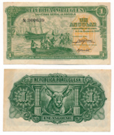 1948 // REPUBLICA PORTUGUESA // ANGOLA // 1 Angolar // TTB // VF - Angola