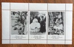 BOLOGNA 1956 CARNEVALE NAZIONALE DEI BAMBINI  FOGLIETTO  ERINNOFILO - Francobolli
