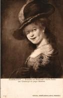 ART PEINTURE  KONIGL. GEMALDEGALLERIE DRESDEN  REMBRANDT  PORTRAIT DE SASKIA VAN UILENBURGH DEPUIS FEMME DE L'AUTEUR - Paintings