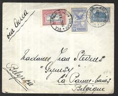 Argentine Lettre De 1932  Vers La Belgique - Argentina